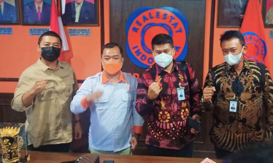 Sambangi Kantor DPD REI Bali, BRI Berikan Layanan 'One Day ...